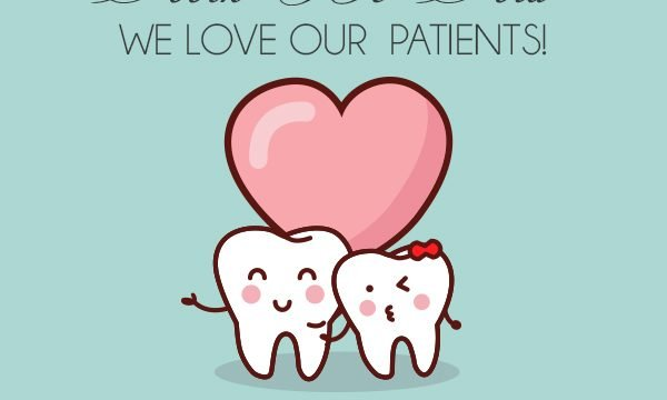 friendly dental valentines day